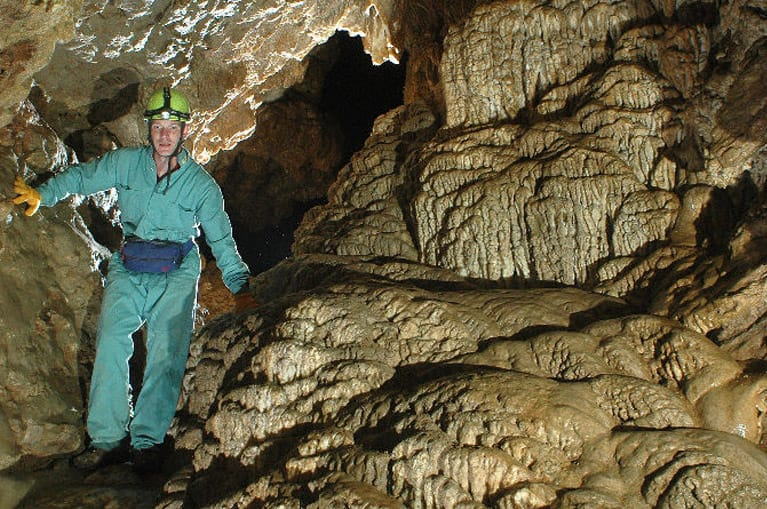 Caving in Parksville BC