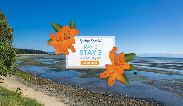 Spring special at Ocean Trails Resort