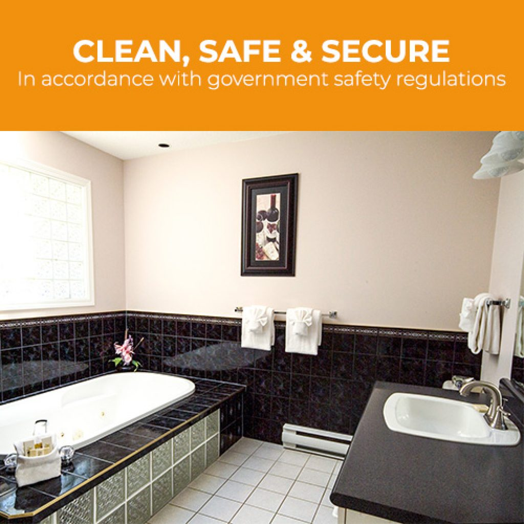 Ocean Trails is clean, safe, and secure