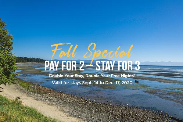 Fall Special at Ocean Trails Resort